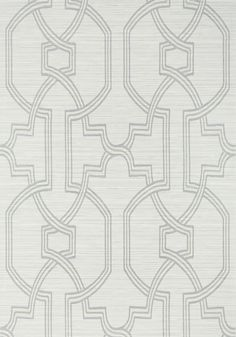 PROMENADE, Grey on Metallic Silver, T276, Collection Texture Resource 6 from Thibaut