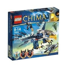 Amazon.com: LEGO Chima Eris Eagle Interceptor 70003: Toys & Games