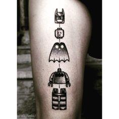 #besttattoo #lego #Batman #tattoo