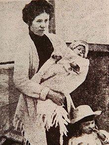 Titanic passenger baby Milvina