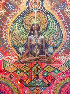 Visionary Art By: Isabel Bryna / Sacred Geometry <3