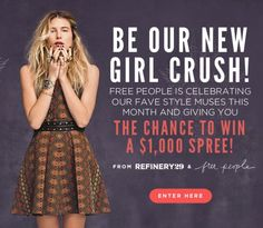 Enter To Win Free People Spree