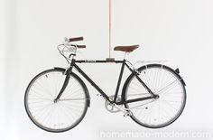 HHomeMade Modern DIY EP76 Copper Bike Rack Options