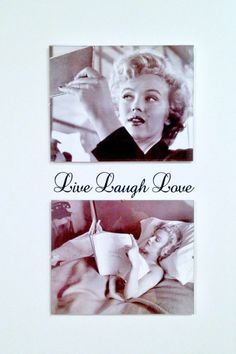 Live Laugh Love #Marilyn #sisustustarra #sisustus #Deco #wall #beauty #decorate #home #style #walldecal #decal #homedeco #sisustustarrat #love #art #wallart #shabbychic