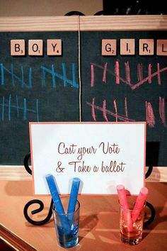 gender reveal party supplies | Gender Reveal Party Ideas! | Happy Home Fairy