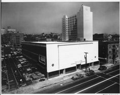 Corner view from rooftop of the California State Employment building, 1949. http://digitallibrary.usc.edu/cdm/ref/collection/p15799coll44/id/90242