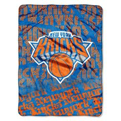 "Knicks OFFICIAL National Basketball Association, ""Redux"" 46""x 60"" Micro Raschel Throw - by The Northwest Company"