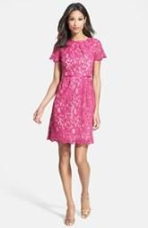 Pink + Scalloped Lace