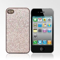 Silver Glitter Sparkle Case for iPhone 4/4S Perfect by Lollimobile, $3.50