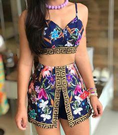 46 – Summer season clothes of 2019 year – Sayfa 2 – Fashion & Beauty Cute Swag Outfits, Cute Comfy Outfits, Cute Summer Outfits, Skirt Outfits, Outfits For Teens, Pretty Outfits, Party Fashion, Fashion Outfits, Fashion Ideas