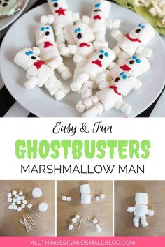 It's the only marshmallow I don't wanna stuff in my mouth immediately.. it's too beautiful. #Ghostbusters