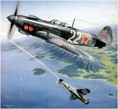 Yak-9D, Sebastopol 1944, by Marek Astrab