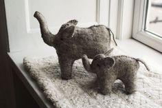elephants #elephant #handmade #fabric