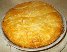 Γαλακτομπούρεκο σούπερ με ρυζάλευρο χωρίς αυγά #sintagespareas #galaktompoureko