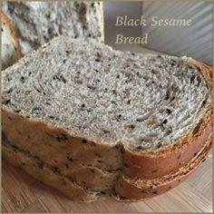 My Mind Patch: Black Sesame Seed Bread 黑芝麻吐司