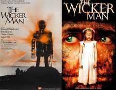 Most people hate the remakes of our beloved horror movies. Yes, most of them are crap, but at least some of the posters for the movies are an improvement. Horror Movie Posters, Movie Poster Art, Film Posters, Horror Movies, Wicker Man, Thriller, Movie Tv, Photo Galleries, The Incredibles