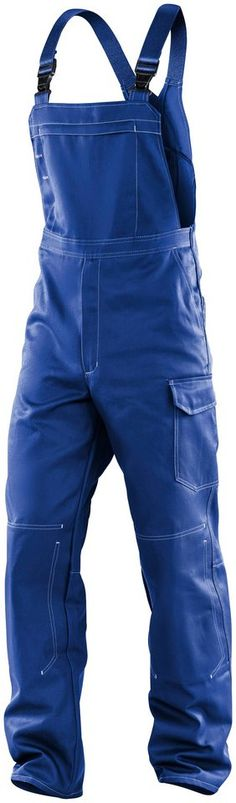 KÜBLER Latzhose »ORGANIQ« ab 59,99€. Belastungspunkte mit Riegeln gesichert, Knieschutztaschen innenliegend bei OTTO