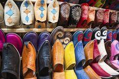 #Babouche on perinteinen marokkolainen mokkasiini, joka tehdään käsityönä. #Morocco #Aurinkomatkat