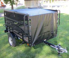 Lifetime Tent Trailer Cargo Cover & Lifetime Tent Trailer 65047 - Sahara Utility Trailer | Camper ...