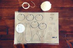 Animal Gift Wrap by lepetitpot on Etsy, $6.75