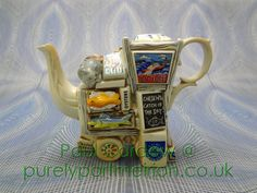 Paul Cardew Design Small Fishmongers Stall One Cup Teapot