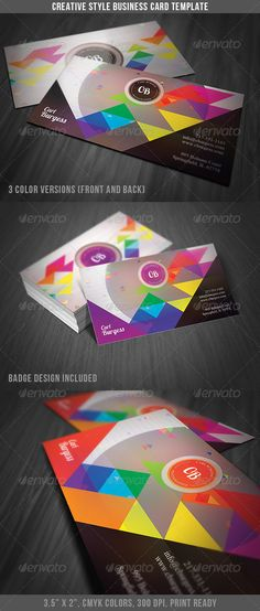 Creative Style Business Card