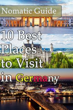 10 Best Places to Visit in Germany - NomaticTravel Best Countries To Visit, Cool Countries, Cool Places To Visit, Heart Of Europe, Party Scene, Fairytale Castle, Amazing Destinations, Germany Travel, Historical Sites