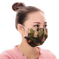 10pcs Men Women disposable mouth mask Adaults Anti Haze Mask anti-dust mouth mask Windproof Mouth-muffle Flu Face mask #Affiliate