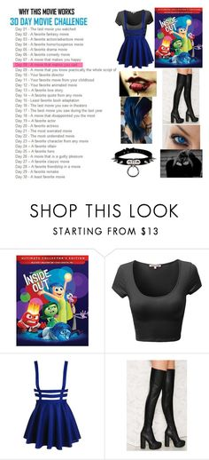 """""""30 day movie challenge"""" by bubble-loves-you ❤ liked on Polyvore featuring Jeffrey Campbell"""