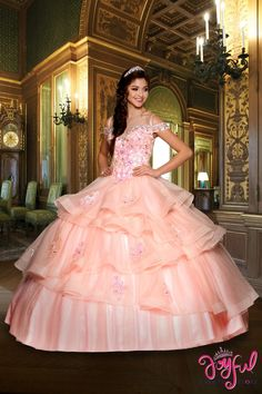 45cafdea59 13 Best Green Quinceanera Dresses images in 2019