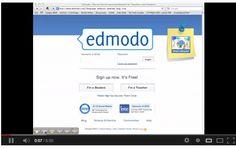 Video Edmodo Tutorial from @techmunoz