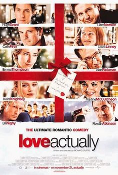 """1. i love christmas. 2. found my wedding dance song on the soundtrack. 3. the words """"just in cases."""" 4. every other gushy romantic thing that happens."""