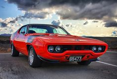 72 Plymouth Roadrunner