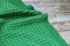 Mossy Meadow Baby Blanket | AllFreeKnitting.com