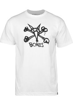 Bones-Wheels Central - titus-shop.com  #TShirt #MenClothing #titus #titusskateshop