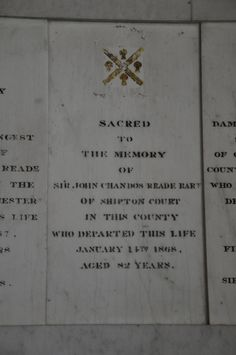 https://flic.kr/p/cJHaxS | Shipton-under-Wychwood-248 St Mary Monuments on south wall of south aisle http://www.bwthornton.co.uk/visiting-stratford-upon-avon.php