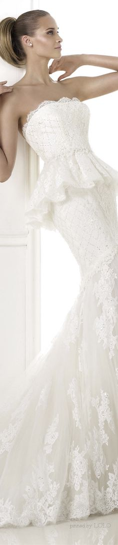 PRONOVIAS 2015 Costura Bridal Collection