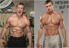 Hot Rugby Players, American Football Players, Rob Gronkowski Shirtless, Gronk Patriots, Shirtless Hunks, Rugby Men, Hunks Men, H & M Home, Athletic Men