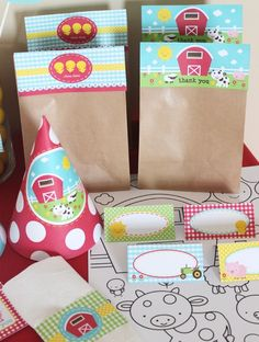 Farm Birthday Decorations Printable Farm Party Package