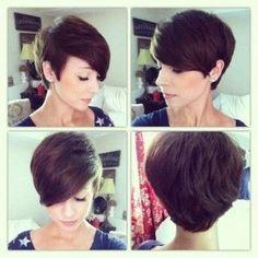 Pixie, hair cut