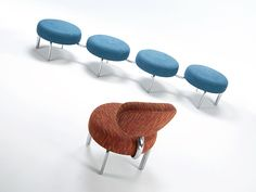 OH! : Versteel's ne wOH! Modular Seating boasts practicality, simplicity and style in one.  Rearrange it, connect it, enjoy it.