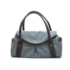 Elegant and very roomy #Handbag made of silky smooth #cork #leather   #sustainable, #vegan, water and dirt repellent   CHF 208.00