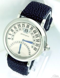 #GeraldGenta has been called the creator of the world's most complicated #wristwatches