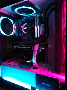 PC gaming is an intriguing area of video gaming. Many people thought that as video game systems grew by leaps and bounds first with new consoles like X-box Play Station, and Wii, but . Gaming Computer Setup, Best Gaming Setup, Gaming Pc Build, Gaming Room Setup, Gaming Pcs, Computer Build, Pc Setup, Computer Case, Gaming Desktop