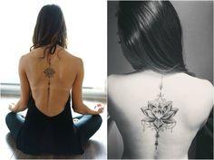 Yoga Tattoo Lotusblüte