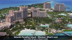 Atlantis Paradise Island - Discover What's Lost - https://traveloni.com/vacation-deals/atlantis-paradise-island-discover-whats-lost/ #caribbeanvacation #atlantis #bahamasvacation