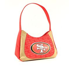 ONE SAN FRANCISCO 49ERS, CURVE HOBO SWAG PURSE FROM LITTLE EARTH #LittleEarth #SanFrancisco49ers