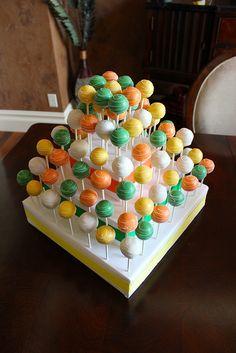 Wedding Cake Pop Cake by PetiteDelightsbyMichele, via Flickr