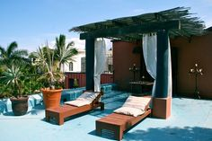 Hotel California in Todos Santos, Mexico. Amazing place, highly recommended!
