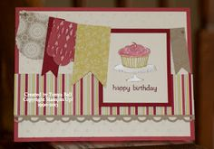 another fun birthday card that uses the Easy Events Stamp Set by Stampin'Up!